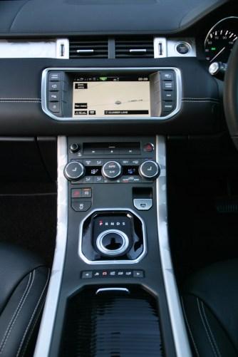 Range Rover Evoque Prestige Coupe Centre Console