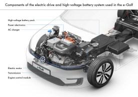 Volkswagen e-Golf Schematic