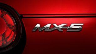 Mazda MX-5 Rear Badge