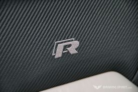 Volkswagen Golf R Seat Logo