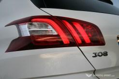 Peugeot 308 Feline Rear Light