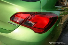 Vauxhall Corsa SRi Rear Light 2014 09