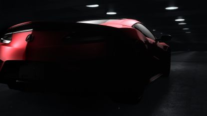 Honda NSX Sneak Preview
