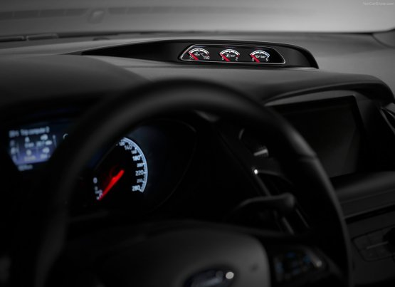 2015 Ford Focus ST Dials