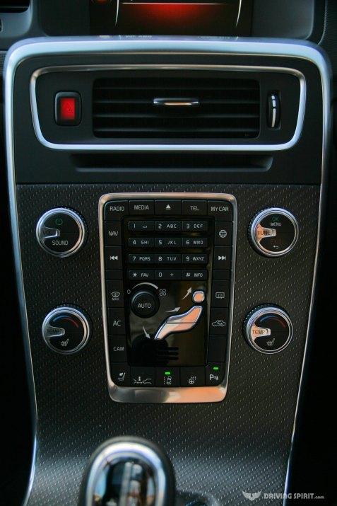Volvo V60 Polestar Estate Centre Console