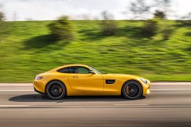 AMG GT S Side