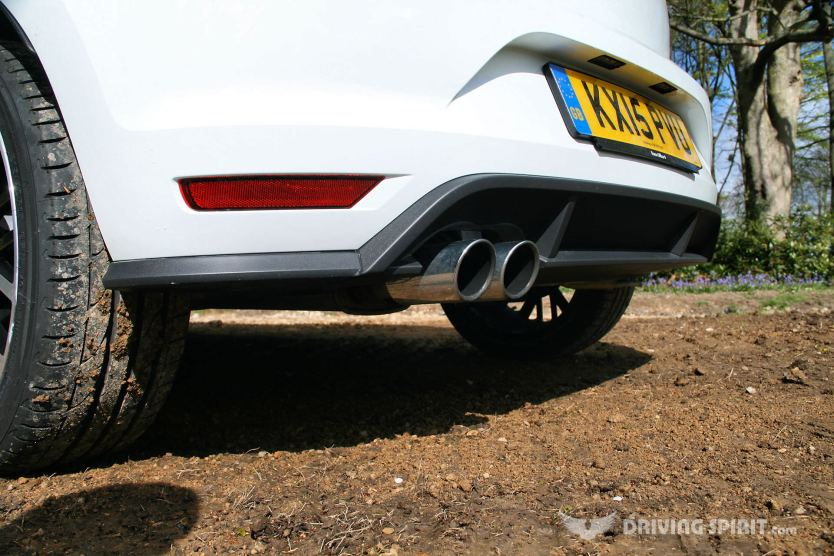 Volkswagen Polo GTI 2015 Exhaust
