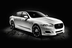 Jaguar XJ Platinum Concept in white