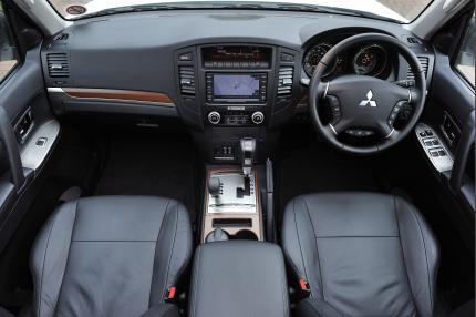 The Mitsubishi Shogun's Interior