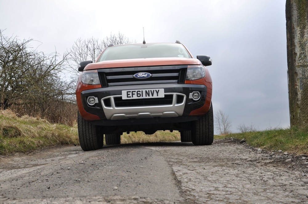 Ford Ranger Wildtrak Orange front