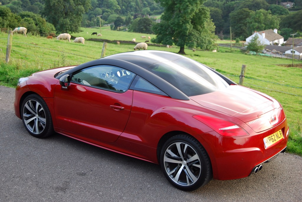 Peugeot RCZ GT rear and side high