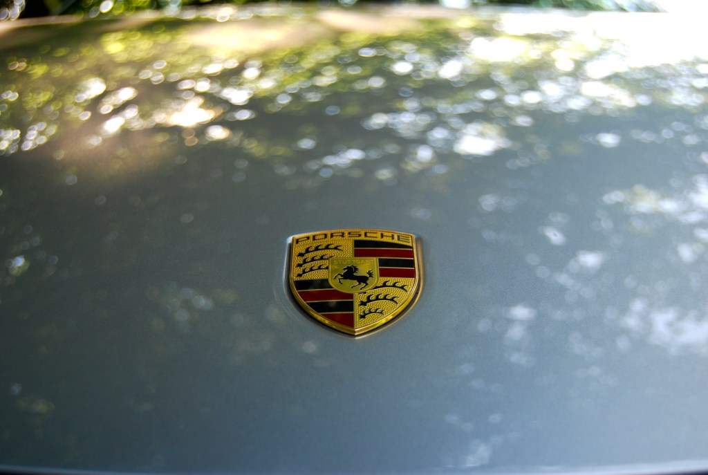 Porsche Cayman badge