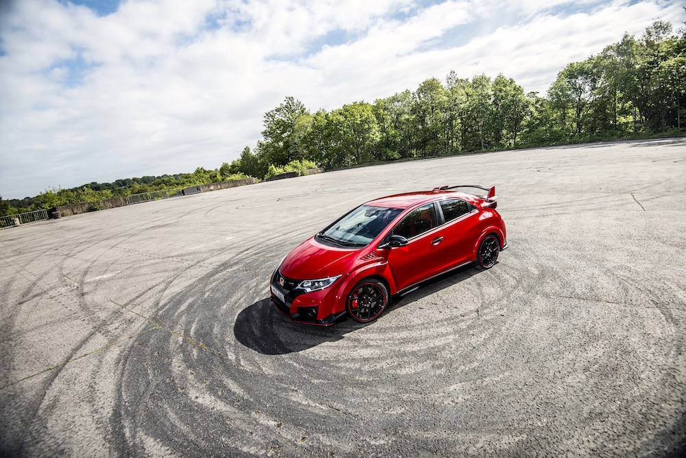 Civic Type R red rhd (1)