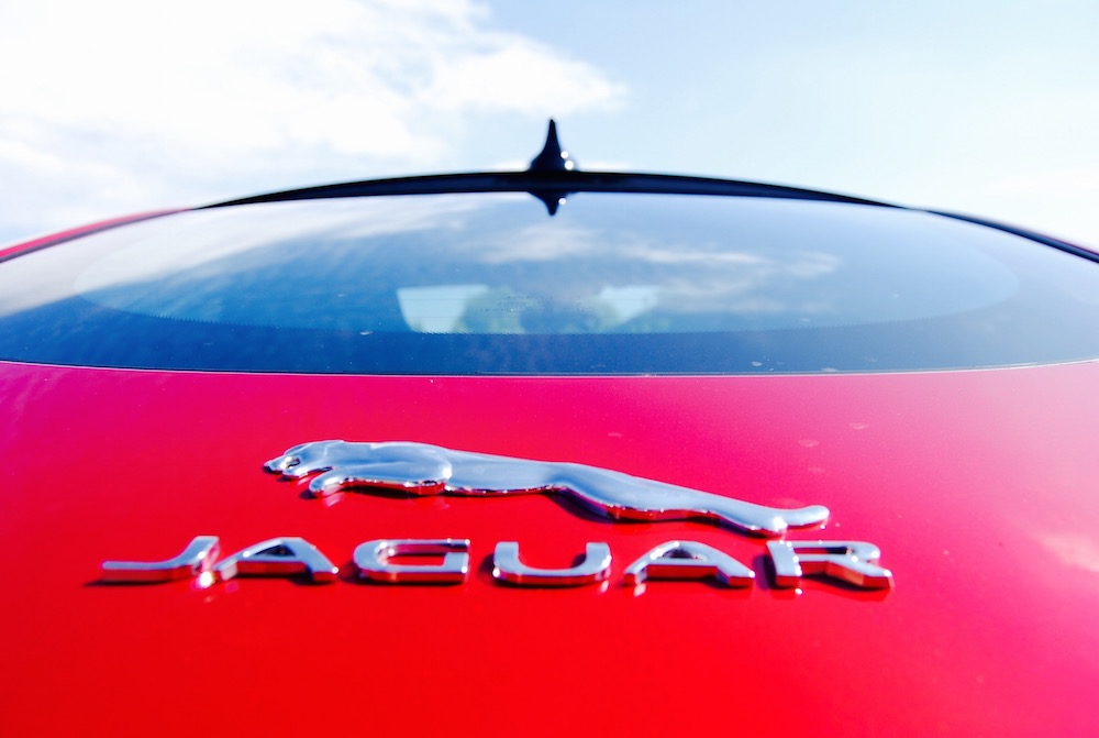 Jaguar F-Type R Rear badge