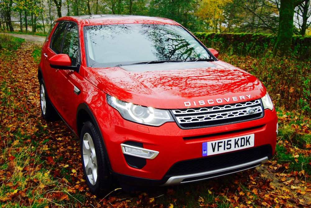 Discovery Sport front