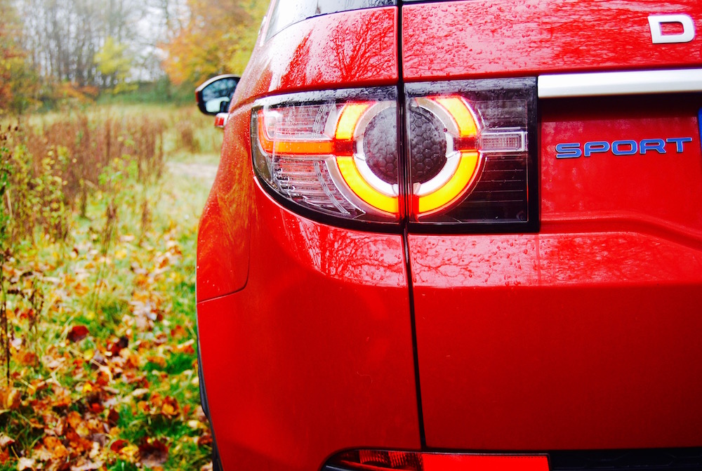 Discovery Sport rear light