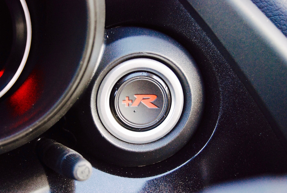 Civic Type R +R button