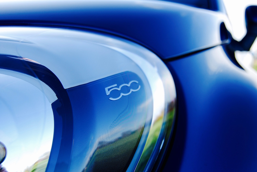 Fiat 500x headlight