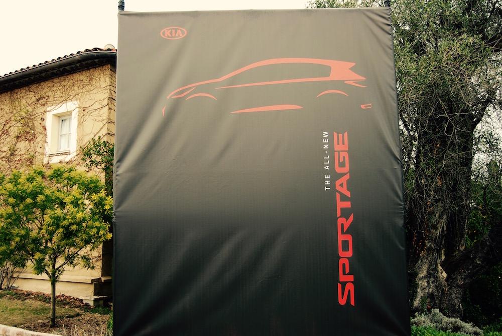 new kia sportage banner