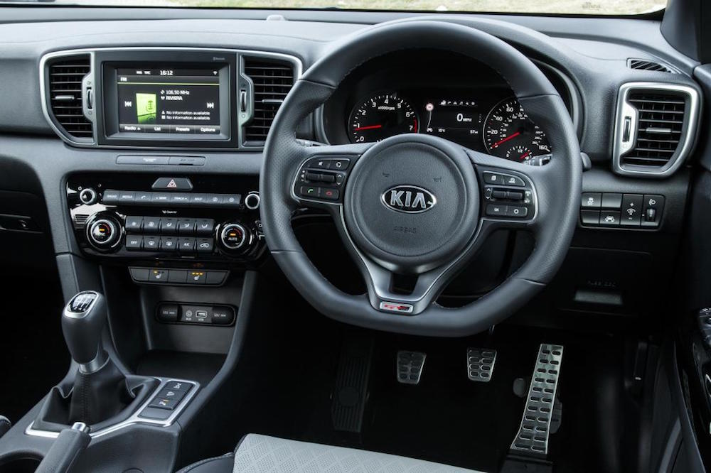 new kia sportage interior