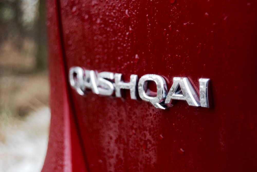 nissan qashqai badge