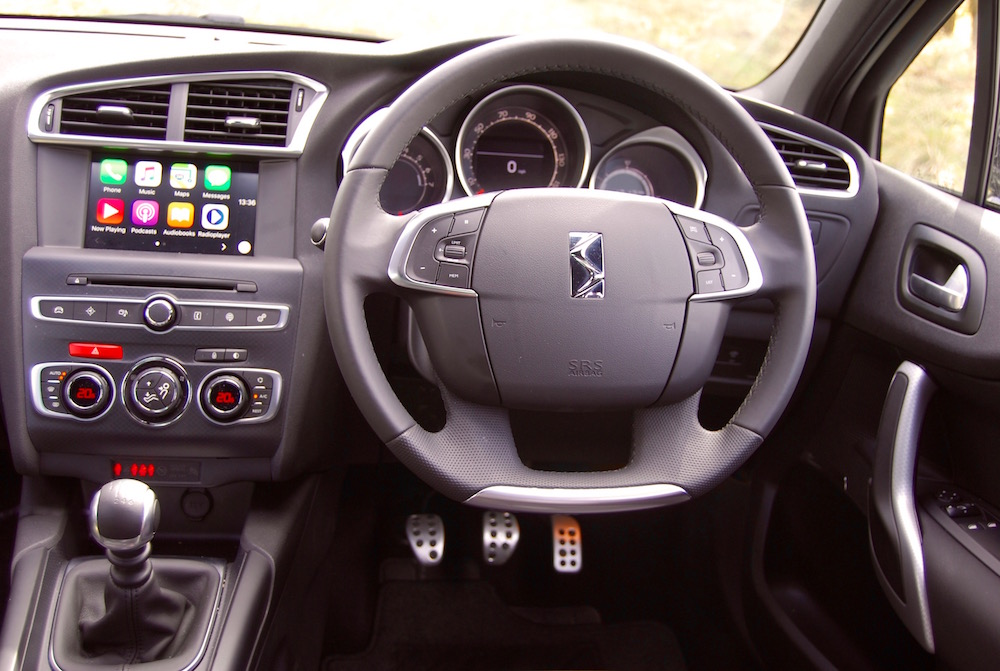 citroen ds 4 cabin interior review