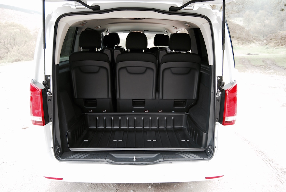 mercedes benz vito tourer boot trunk