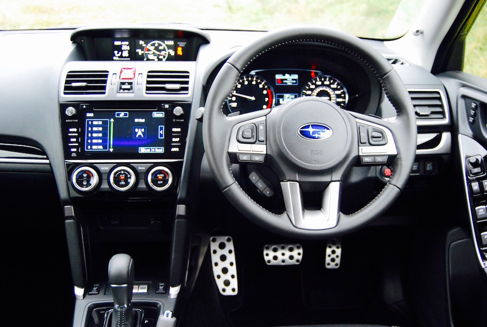 subaru forester xt interior dash review