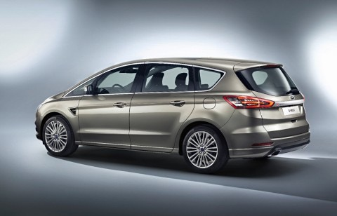 ford s-max review side rear