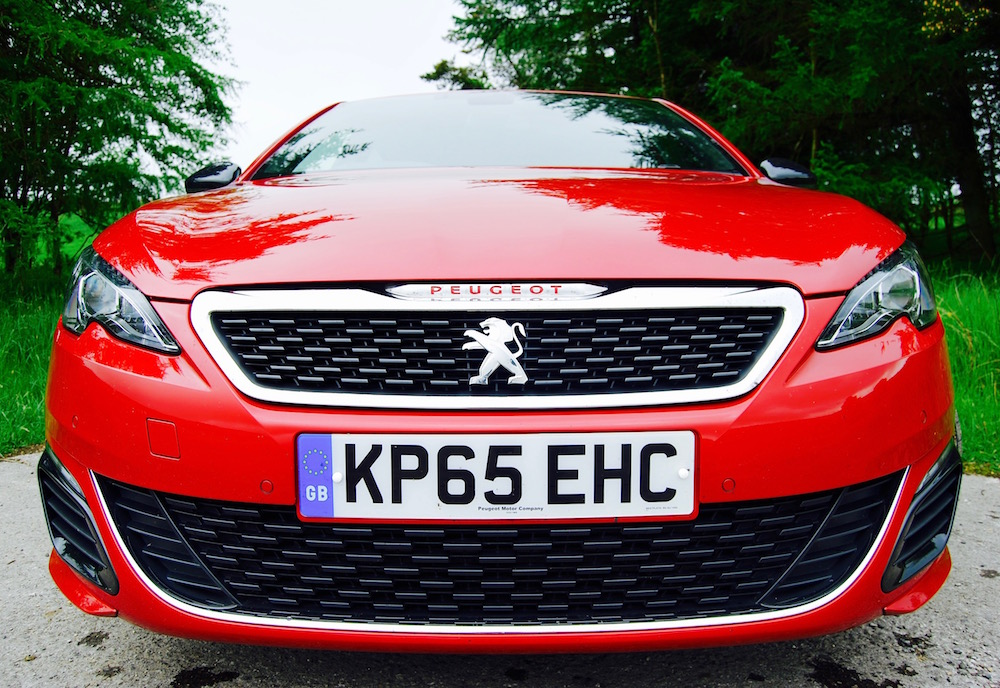 Peugeot 308 GTi front grille review