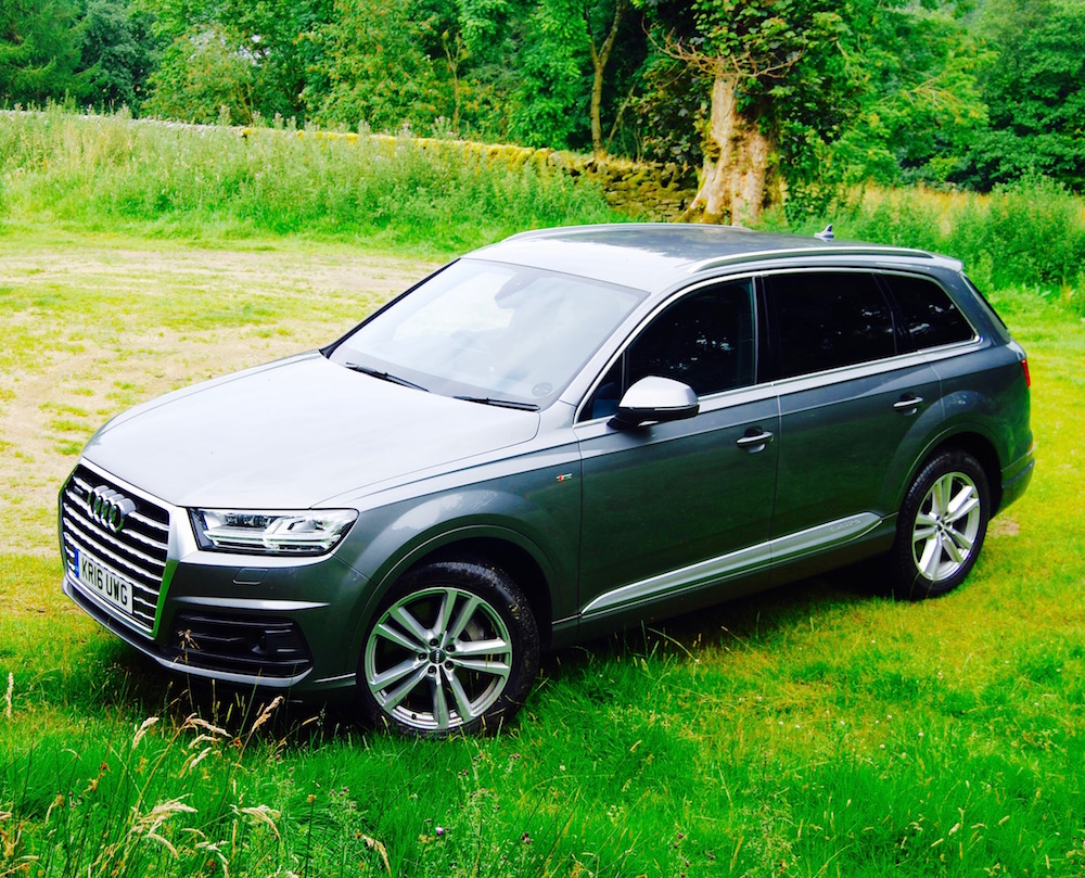 Audi Q7 S Line 218PS Review