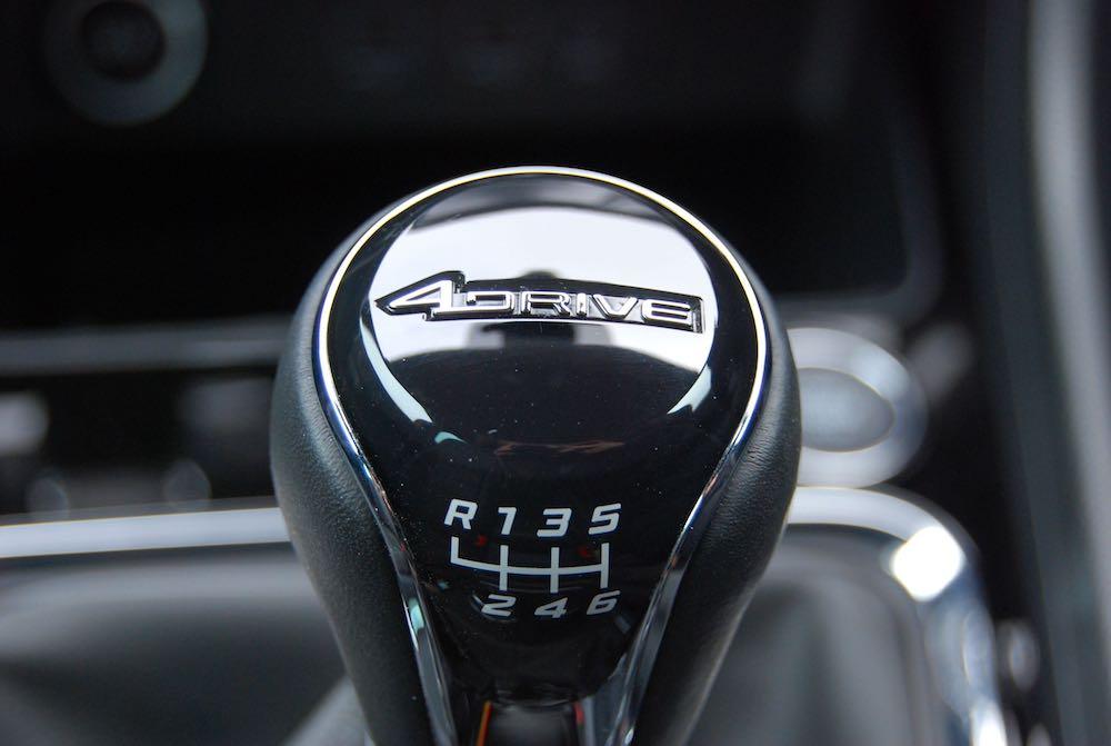 Seat ateca gearstick