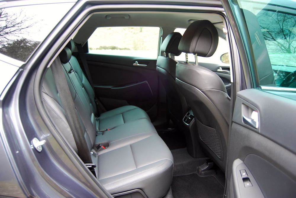 Tucson rear seats