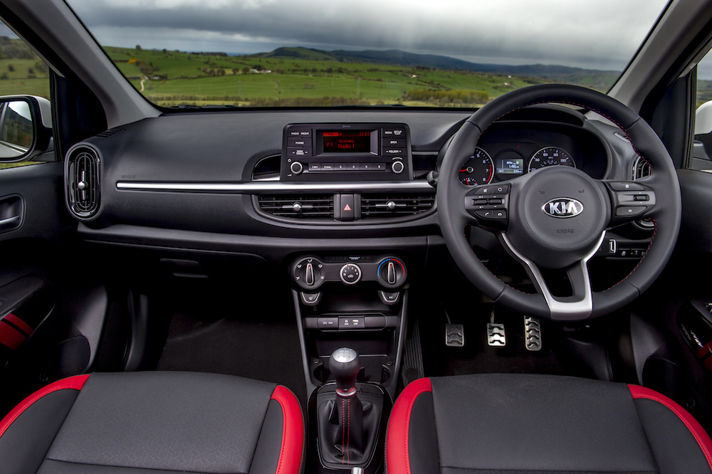 all new picanto interior