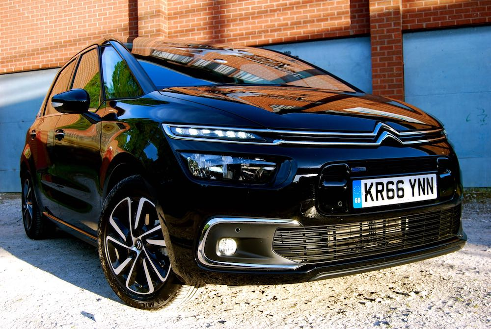Citroen C4 Picasso black front side