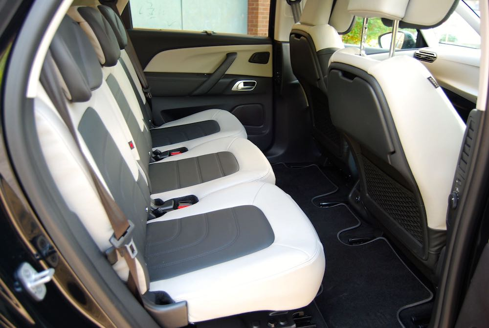 Citroen C4 Picasso rear seats