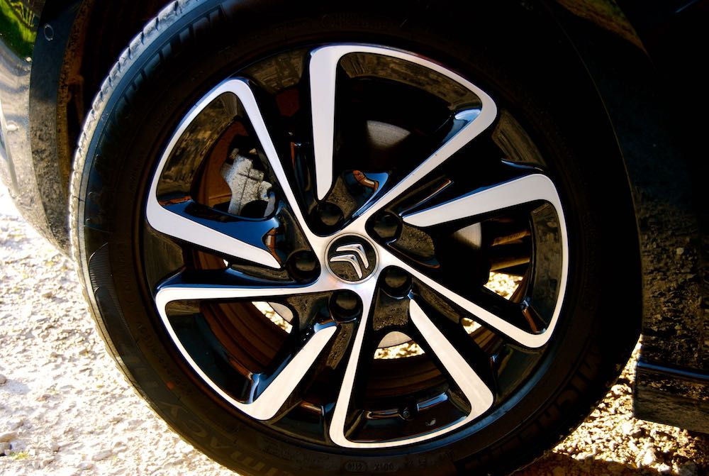 Citroen C4 Picasso wheel
