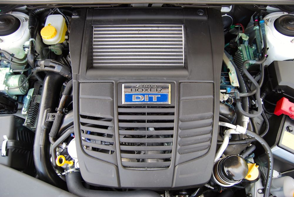 Subaru Levorg GT Boxer engine