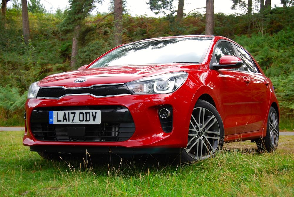 All New Kia Rio Road test and Review