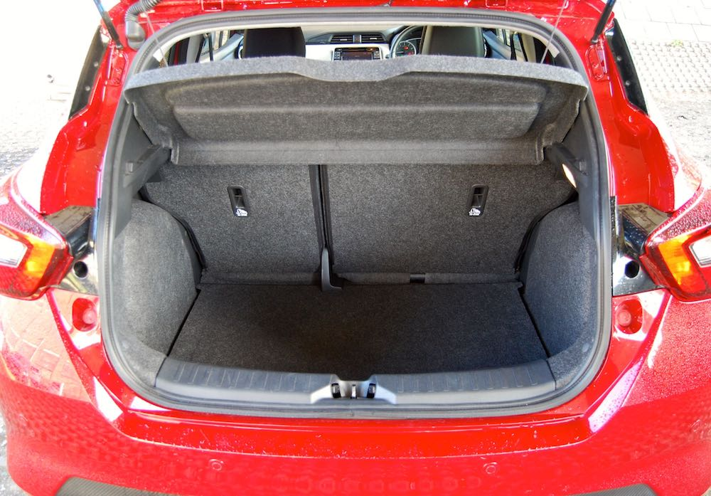 nissan micra boot trunk