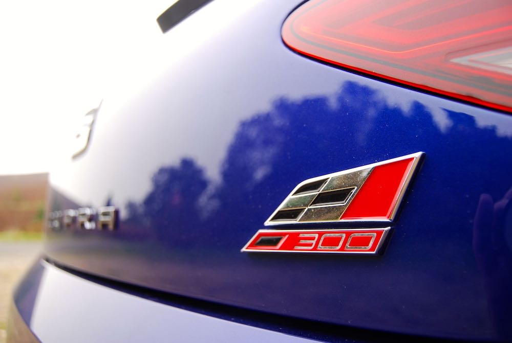 Leon Cupra 300 badge