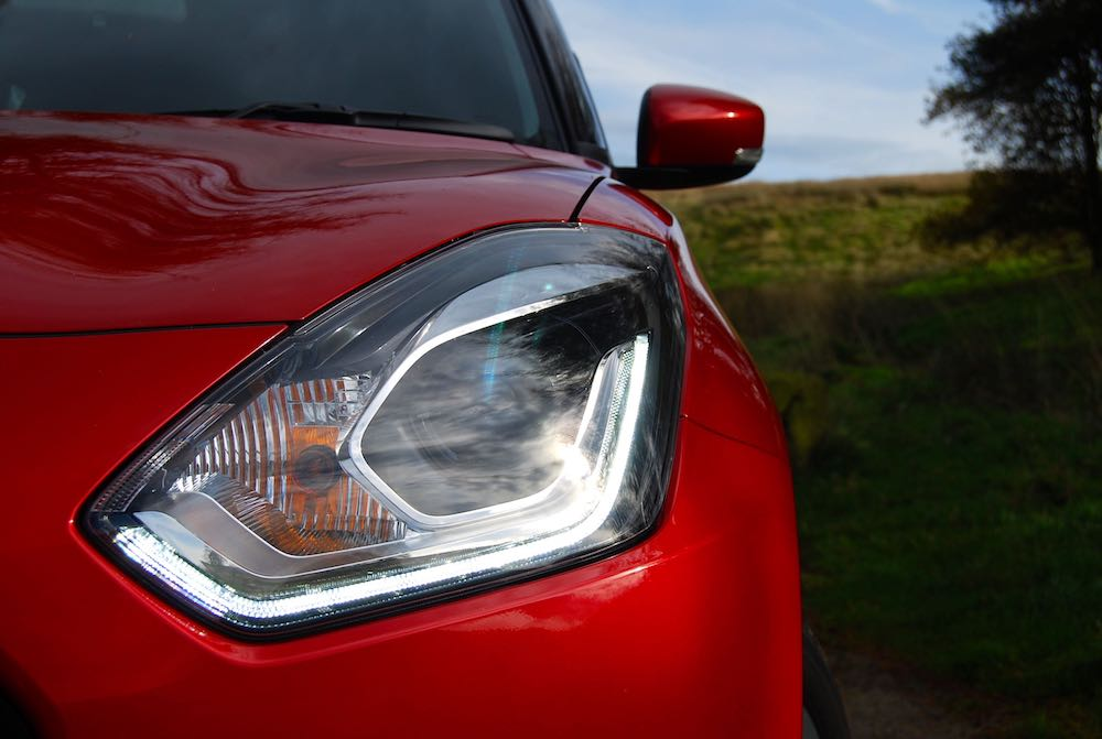 suzuki swift front drl