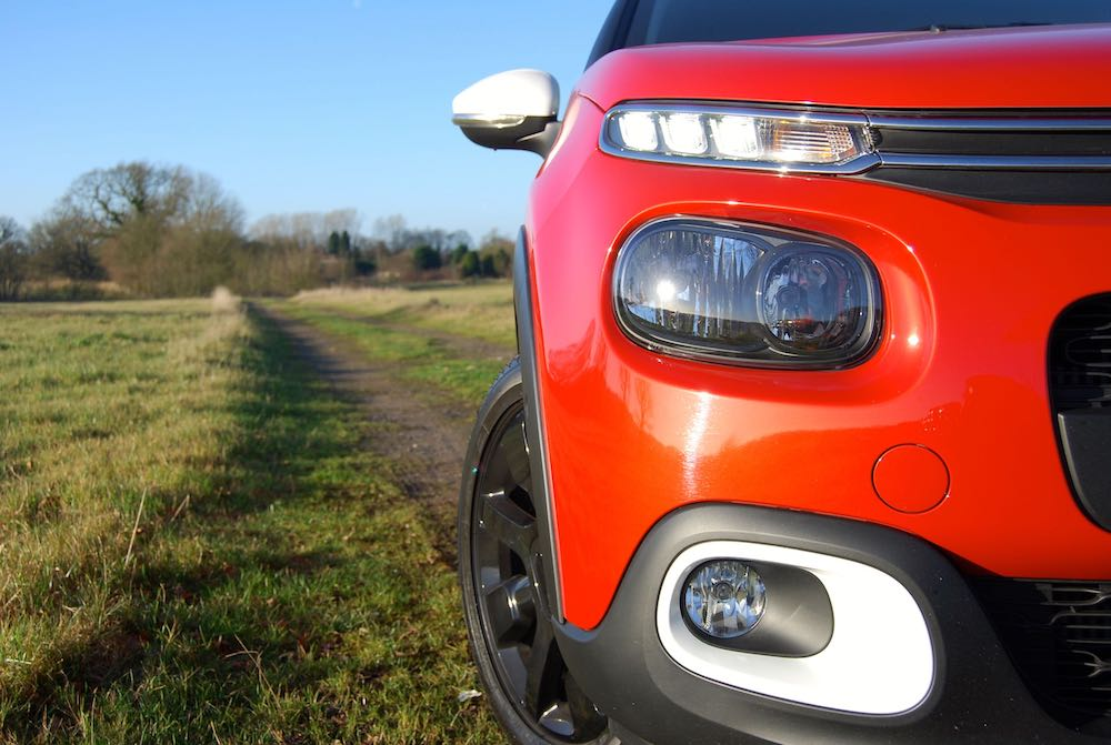 Citroen C3 headlight