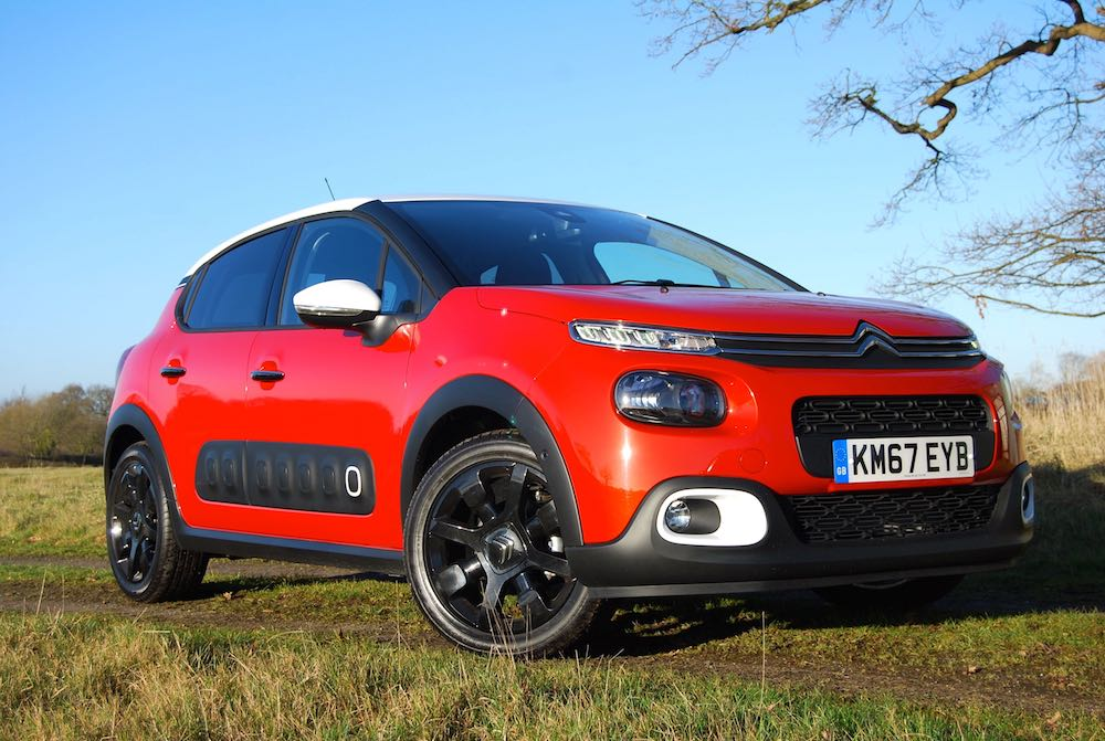 Citroen C3 orange front side