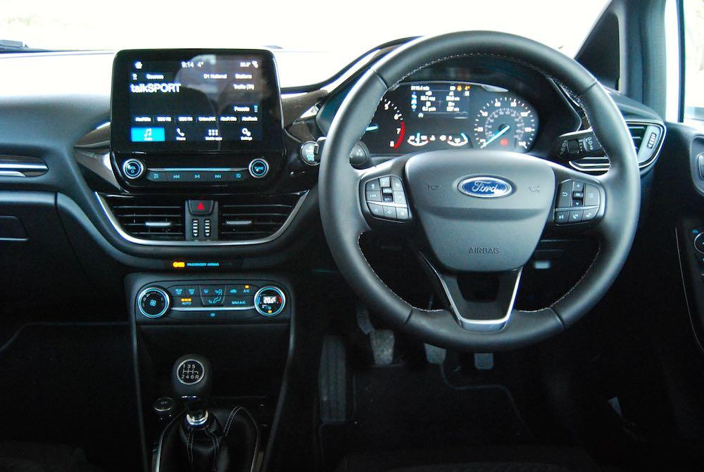 new ford fiesta cabin dashboard
