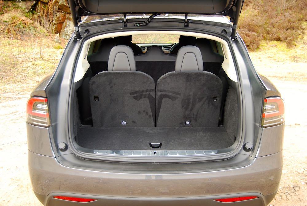 Tesla Model X 3rd row seats