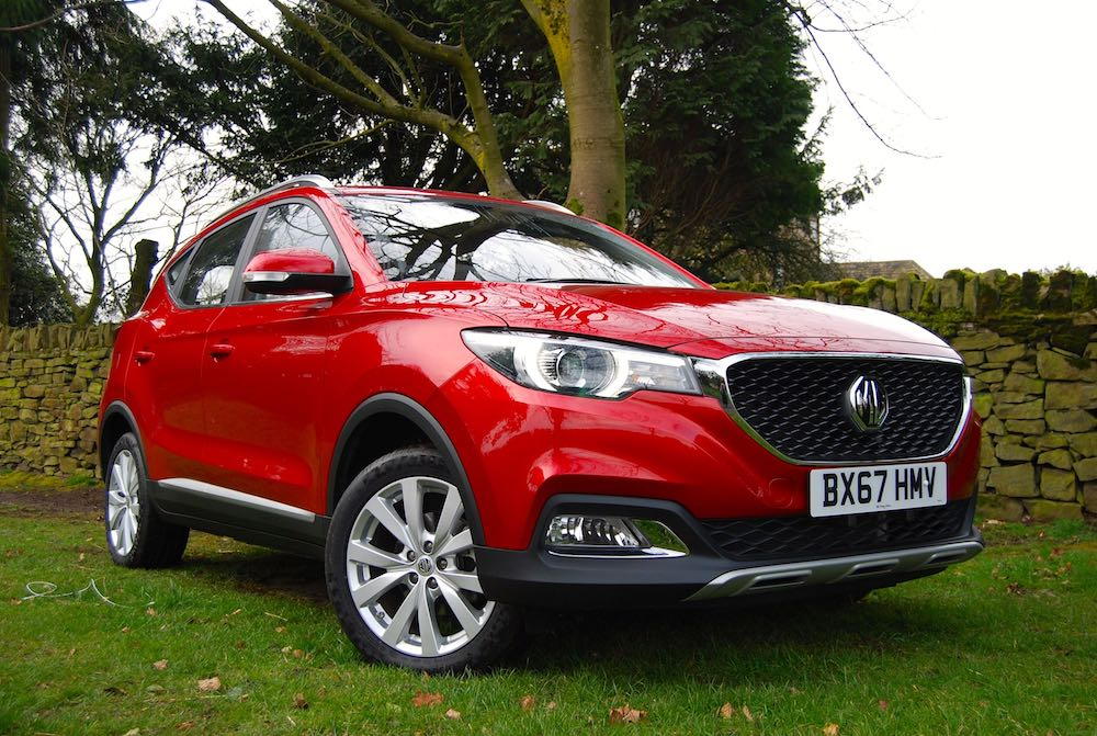 mg zs red front side