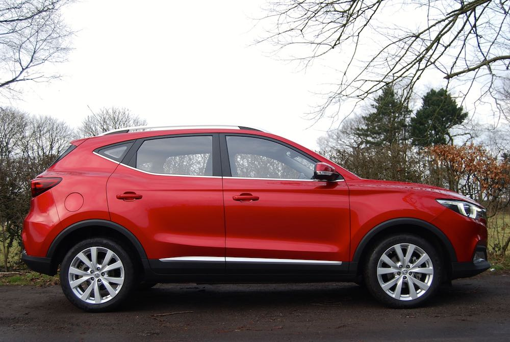 mg zs side red