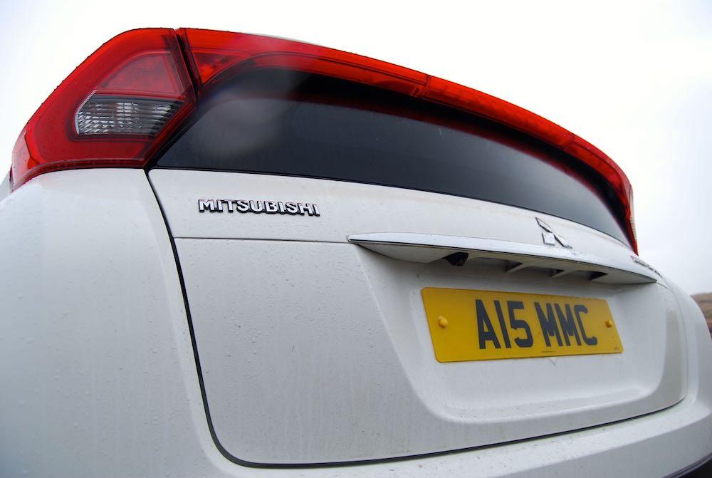 Mitsubishi Eclipse Cross rear white light