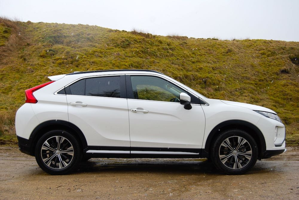 Mitsubishi Eclipse Cross side white
